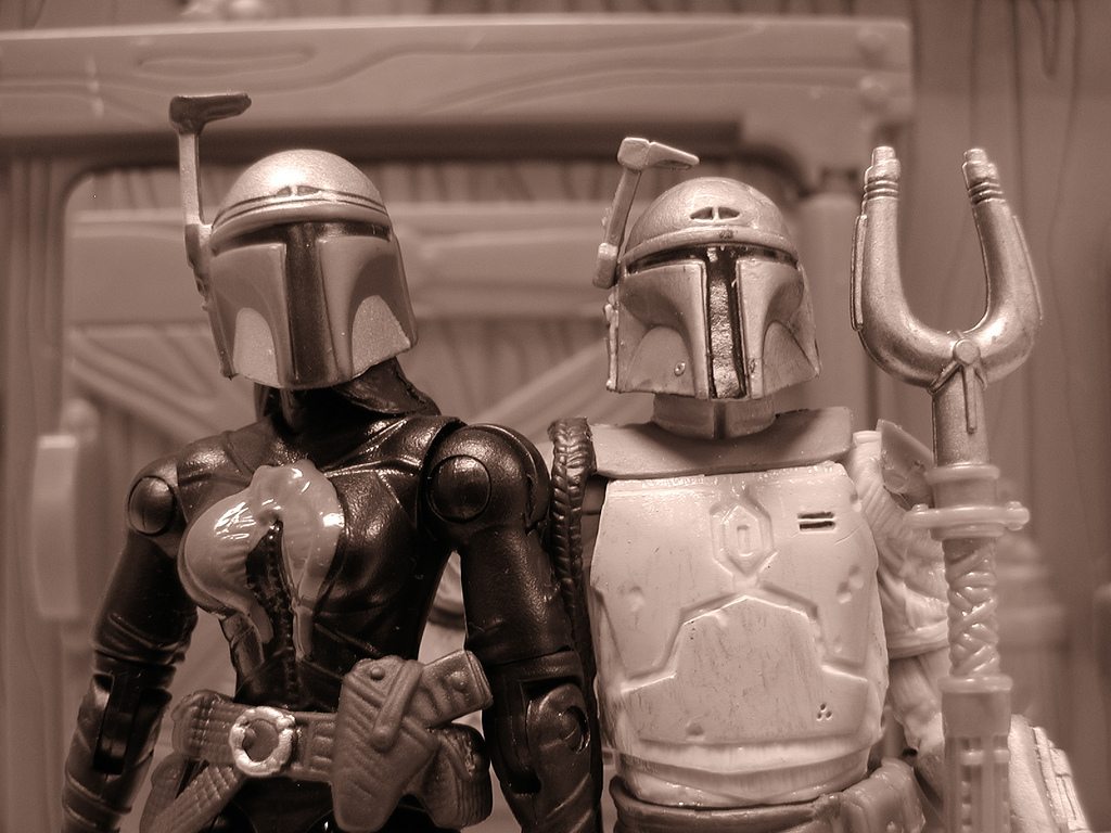 Boba Fett and Cobra Commander