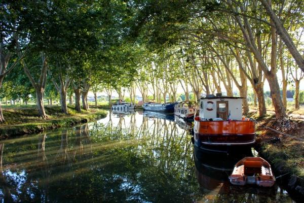 Canal du Midi at Dusk